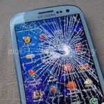 Замена стекла Samsung Galaxy S3 I9300.